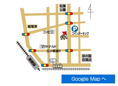 豊橋駅前地図