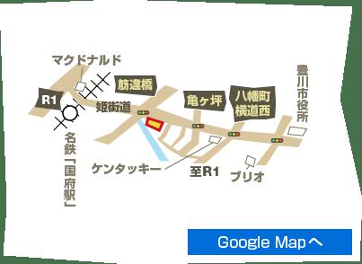 豊川八幡店地図