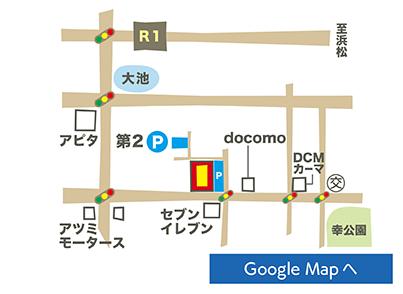 豊橋佐藤店地図
